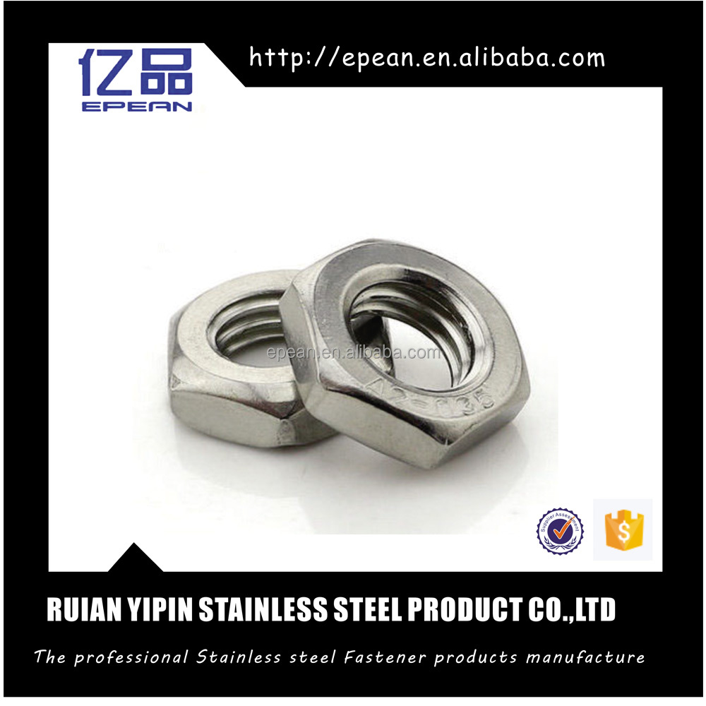 304 Stainless steel socket thin nut