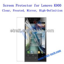 Wholesale Screen Guard for Lenovo K900 Clear, Frosted, Mirror, High-Definition