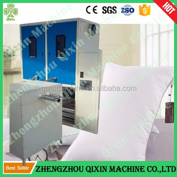 2016 new technology automatic pillow filling machine with measure pillow weight