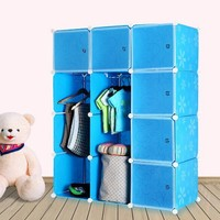 10 cubes plywood wardrobe design, you can assemble as your way(FH-AL0041-9)