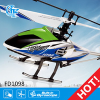 FD1098 black hawk 4ch 2.4g rc helicopter v913 model