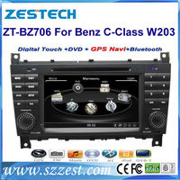 ZESTECH Car DVD for Mercedes Benz C class W203 CLC G Class W467 with GPS radio USB 3G wifi host S100 support DVR audio video