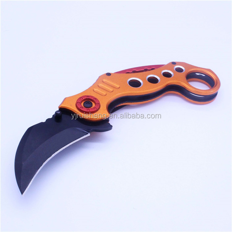 Brand new technology colorful outdoor knife