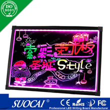 Top sale outdoor hotel led writing board/digital sign board for display