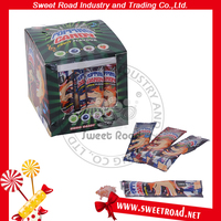 Sweet Halal Fruit Flavor Popping Candy in Display Box