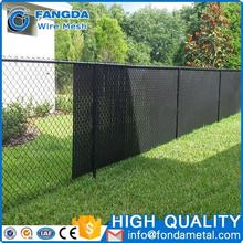 BS EN 10223 privacy and add beauty High Quality custom cheap 6ft chain link fence slats lowes (anping factory)