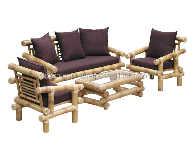 BSF921 - Vietnam Antique and Model Bamboo Sofa