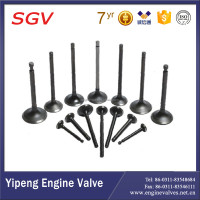 Auto Engine valves 13711-1450 intake valves for Hino Truck KF