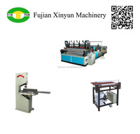 Easy-to-use toilet tissue paper machine production line