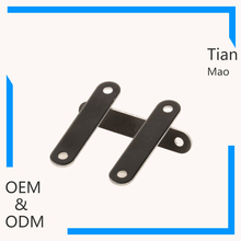 wholesale direct brassing metal frame name badges tags