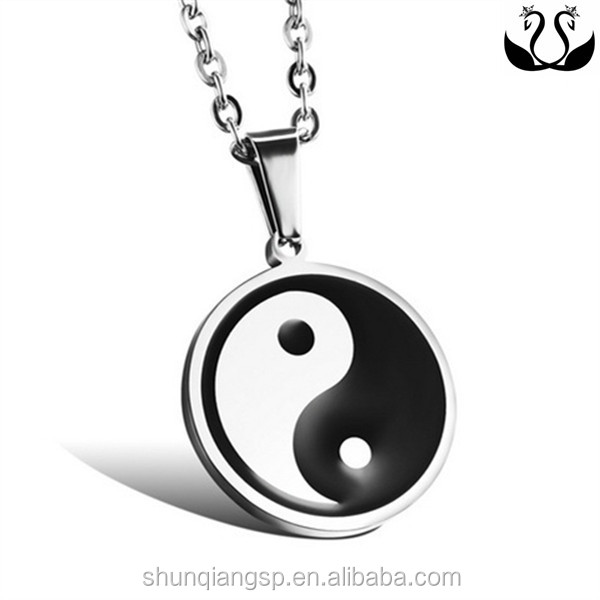 Polished mirror effect personlity china style yin yang tai for Lit yin yang