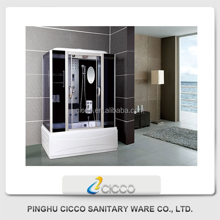Hot Sale Luxury Shower Cabin Deluxe Steam Shower Room