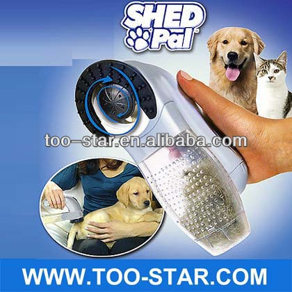Shed Vac Shed Pal Pet Hair Vacuum-Powered Pet Groomer