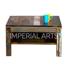 Recycled Wooden Coffee Table Indian Furniture from India