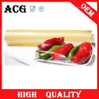 Household and Hotel use thick clear plastic wrap for food packing