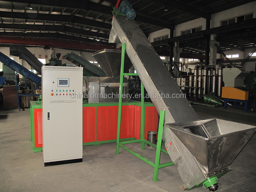Chinafor Brand professional manufacture film squeezing dryer/plastic film squeezing dryer
