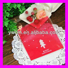 Yiwu custom christmas opp packing printed poly bags
