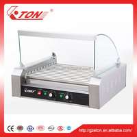 Hot Dog Roaster Machine with Bun Warmer