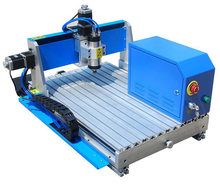 China mini milling machine with cnc price 4 axis cnc router 6090 lathe desktop hobby small cnc milling machine for sale