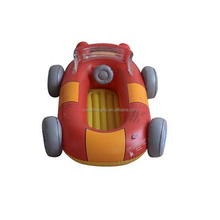 pvc inflatable baby toy car
