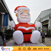 Bingo inflatable festival products 16Ft./H5M inflatable Christmas Santa claus reading book for events