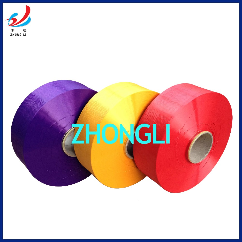 Polyester Partially Oriented Yarn POY Dope Dyed