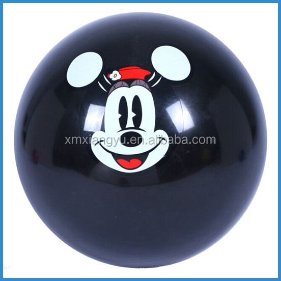6P Free PVC inflatable ball bounce, decal ball, sticker ball