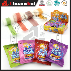 5g Soft Sweets Gummy Roll / Funny Tape Candy