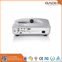 White Gaoke more than 20000 hours lamp life 3000 lumens to 3500 lumens ultra wide laser portable mini projector