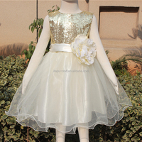 Baby Flower Girl Dress Summer Sequin Baby Girl Clothes Princess Children's Dresses kids Clothes