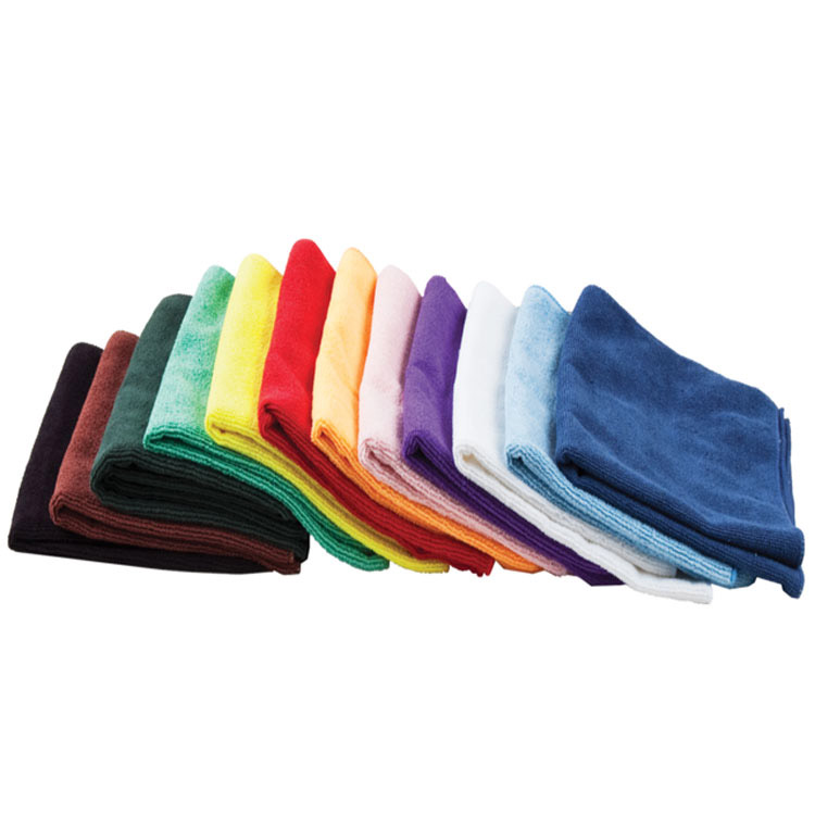 Microfibre cloth manufacture quick dry car care cleaning micro fibre glass cloth