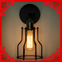 Loft American country restaurant retro designers warehouse industrial style wall lights