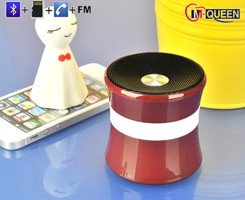 Promotion gift New products / mini Portable bluetooth Speaker / Wireless bluetooth Speaker with FM radio alibaba express