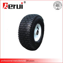 China direct supplier super quality deep threaded 16 inch ruber wheels/wheelbarrow wheels