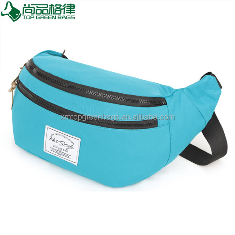 Trending Fashion Leisure polyester sport hip bag bum bag waist bags