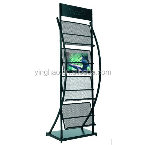 free standing wire display racks