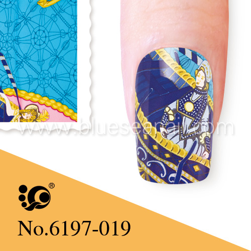 nailart decal water coat