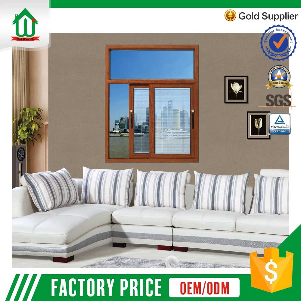 Good quality aluminum accessories sliding window with lock