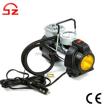 3 in 1 Electric Portable Car Tire Inflator Pump Heavy Duty Air Compressor 12v with LED light