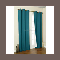 2015 wholesale elegant coating black out window curtains