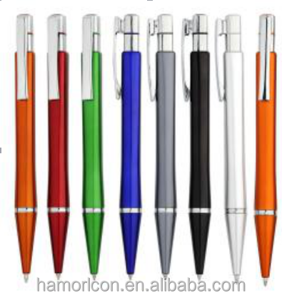 2017 Newest design top quality jumbo promotional pens with logo