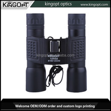 telescopes optical 12X32 panda binoculars with black rubber parts for sale