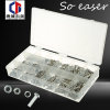 Factory Price Hardware Kit 475pc Stainless Steel Nut Bolt Washer Assortment