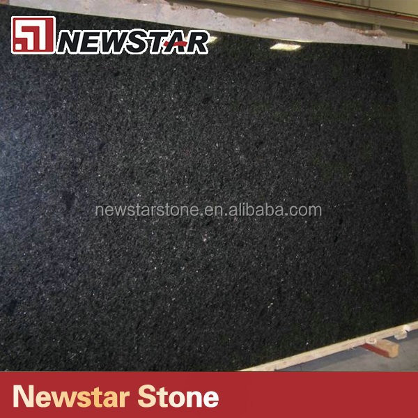 US standard polished indian absolute black granite