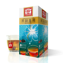 Freeshipping chinese blooming jasmine flavored tea bag dayi tea floral tea