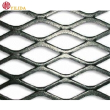 Flatted expanded metal wire mesh of walk platforms