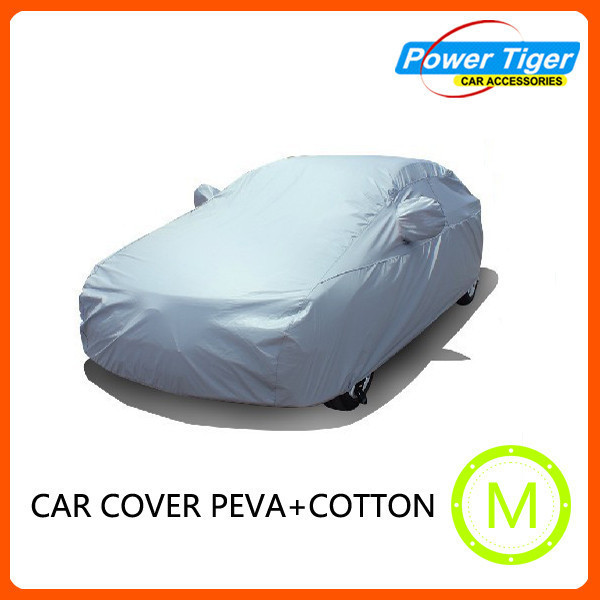 Folding silver PEVA sun Car Cover