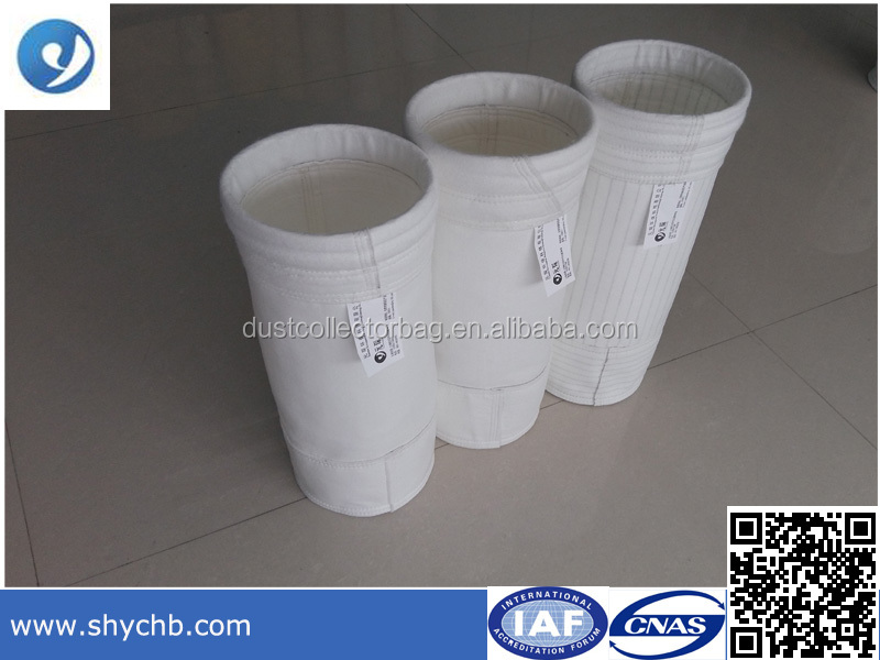 Baghouse polyester Membrane filter bag for cement industry
