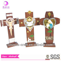 Wall decor Crafts Jesus Cross Wood Crosses