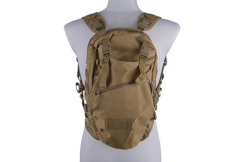 Hot sale Tactical Backpack Coyote Rucksack mit Helmhalterung Outdoor Airsoft 20L